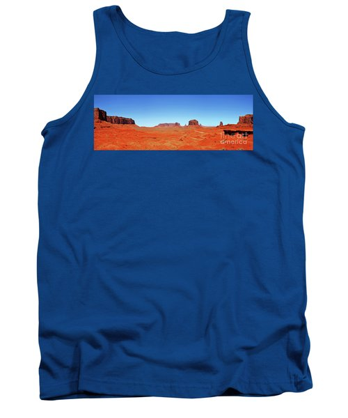 Tank Top featuring the photograph Monument Valley Two by Paul Mashburn