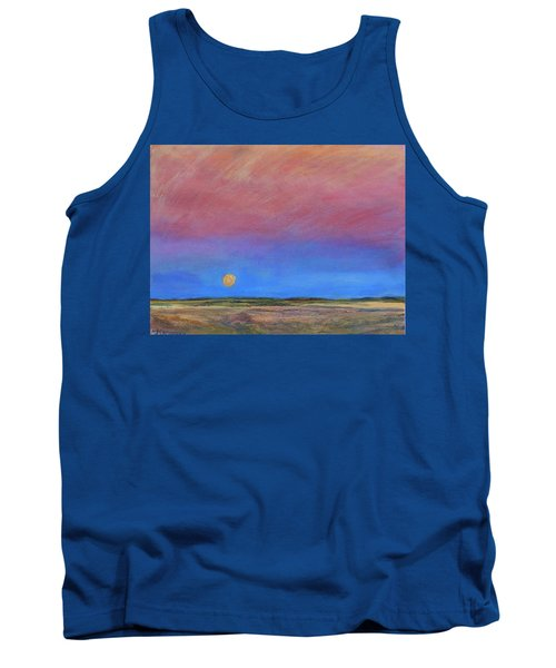 Harvest Moon  Tank Top by Helen Campbell
