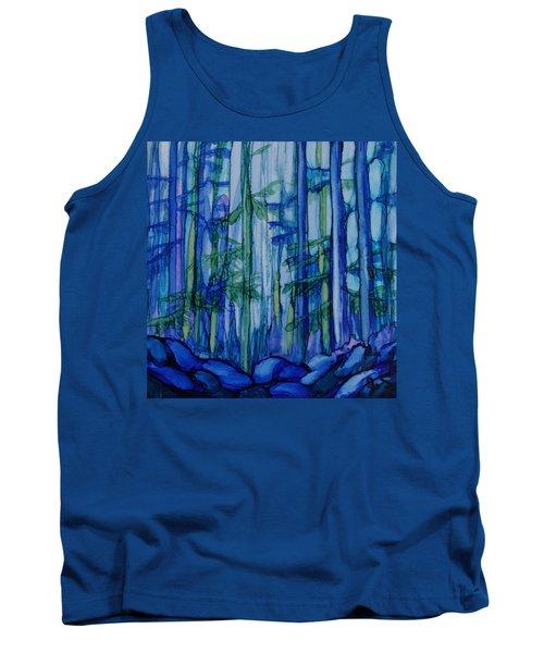 Moonlit Forest Tank Top by Joanne Smoley