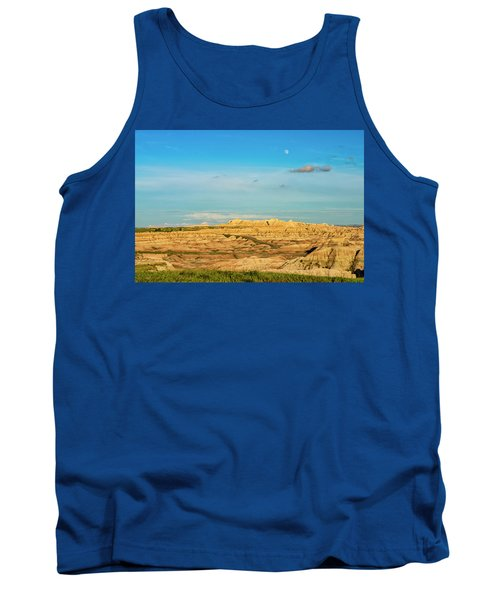 Moon Over The Badlands Tank Top