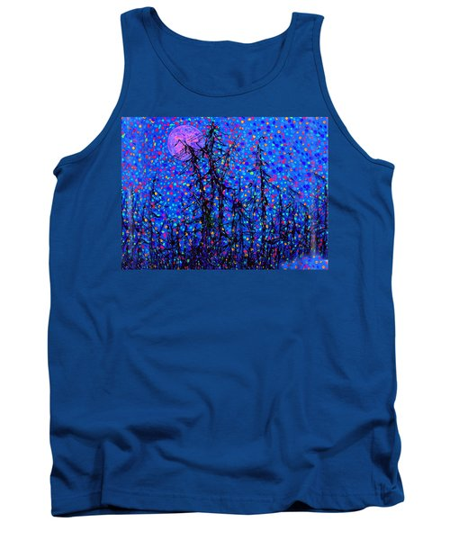 Moonlit Forest Tank Top