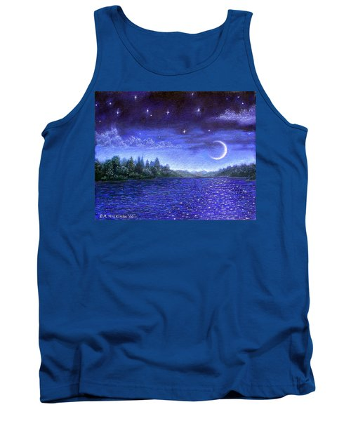 Moonlit Lake Tank Top