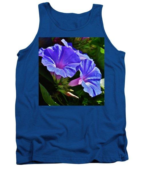 Morning Glory Flower Tank Top