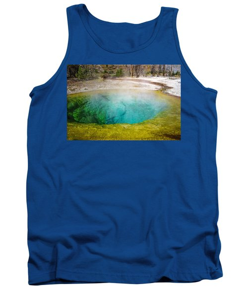 Morning Glory Pool Yellowstone National Park Tank Top