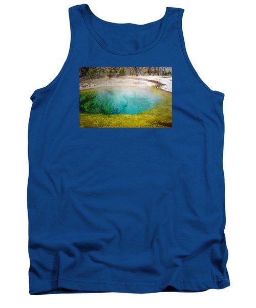 Morning Glory Pool Yellowstone National Park Tank Top