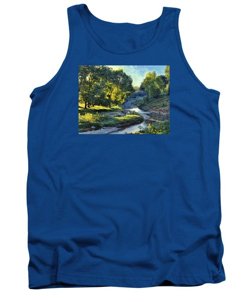 Morning Light On The Creek Tank Top