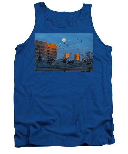 Tank Top featuring the photograph Morning Light by Vladimir Kholostykh