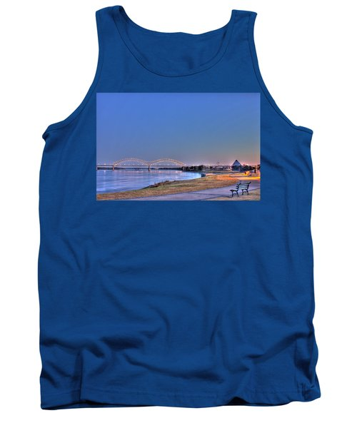 Morning On The Mississippi Tank Top