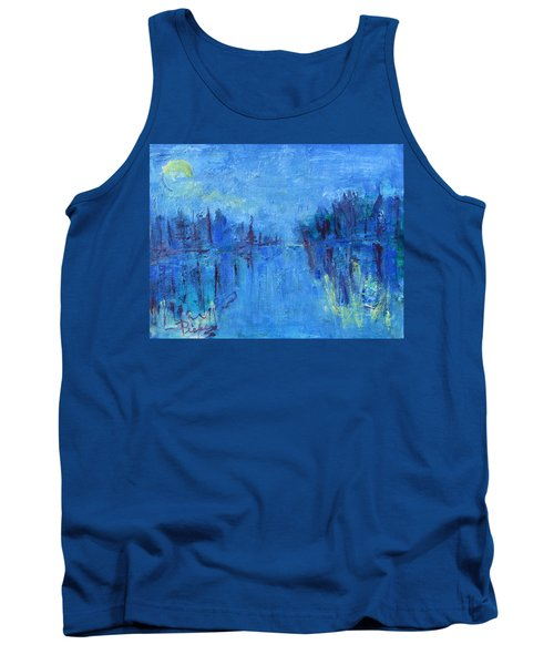 Tank Top featuring the painting Morning On The Point by Betty Pieper