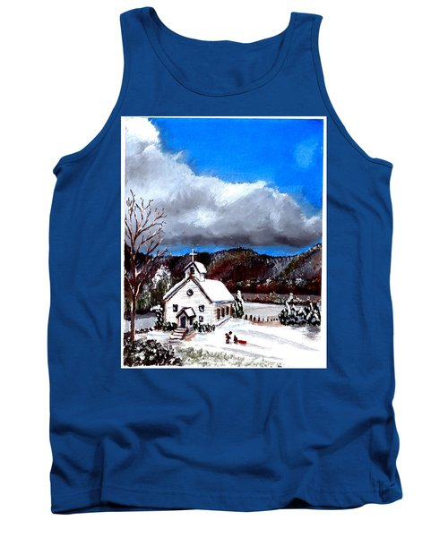 Morning Snow Ministry Tank Top