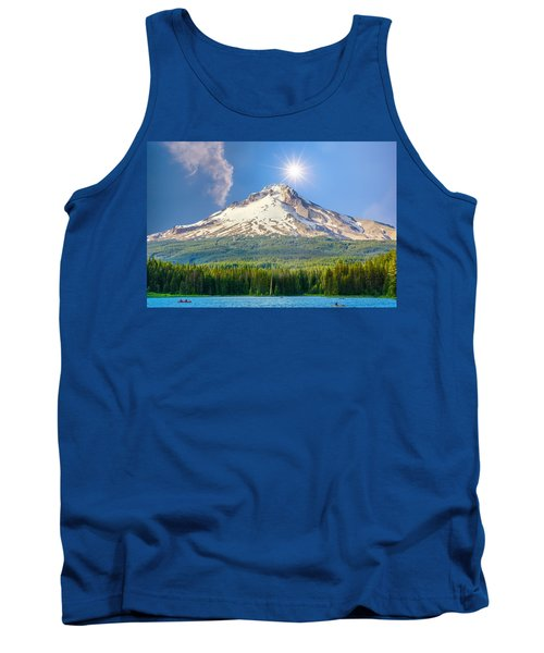 Morning View Of The Mt Hood Tank Top
