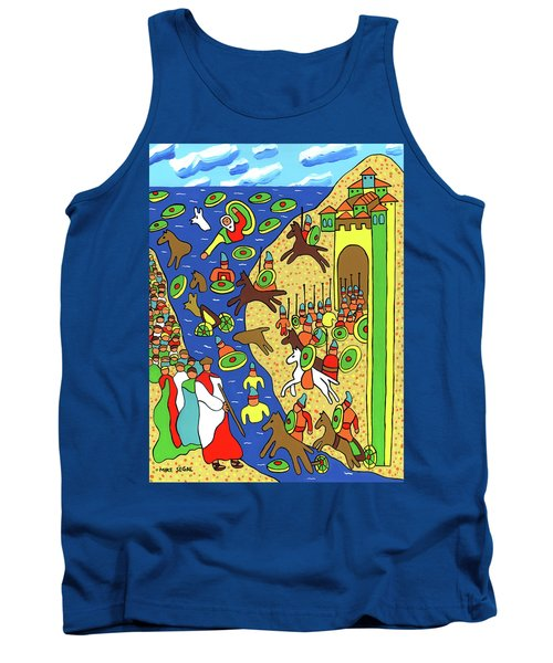 Moses Parting The Red Sea Tank Top