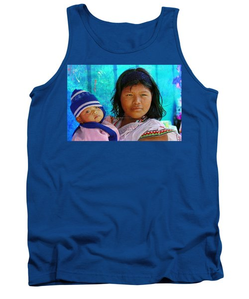 Kuna Yala - Mother And Child Tank Top