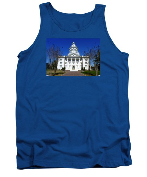 Moultrie Courthouse Tank Top by Carla Parris