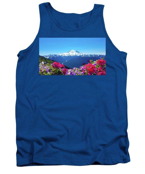 Mount Rainier Tank Top
