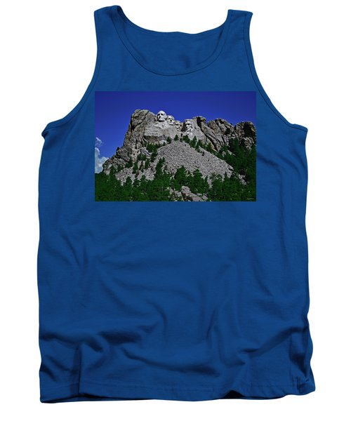 Tank Top featuring the photograph Mount Rushmore 001 by George Bostian