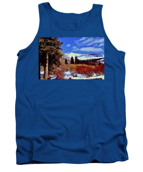 Mount St Vrain  Tank Top