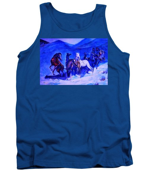 Move Over. Tank Top by Khalid Saeed