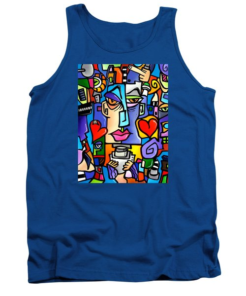 Mr Roboto Tank Top