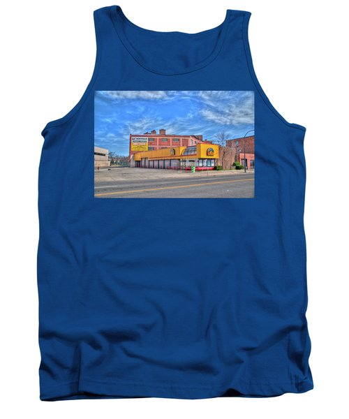 Tank Top featuring the photograph Mr Tire 15117 by Guy Whiteley