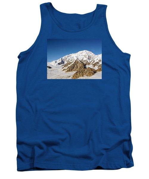 Mt Denali - Mount Mckinley Alaska Tank Top