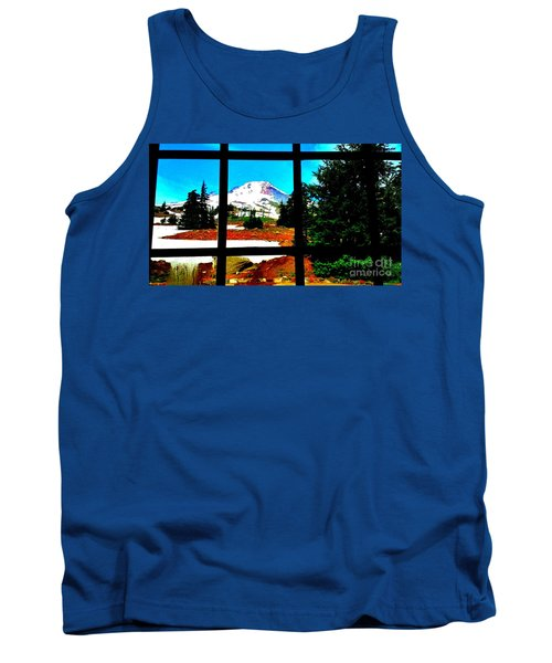 Mt. Hood View Tank Top