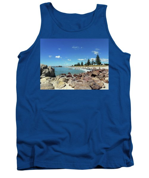 Mt Maunganui Beach 3 - Tauranga New Zealand Tank Top by Selena Boron