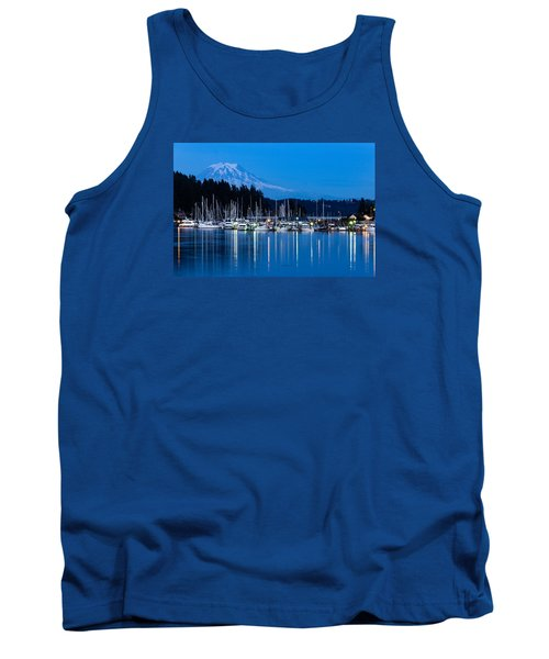 Mt. Rainier From Gig Harbor Tank Top