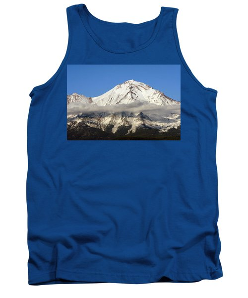 Tank Top featuring the photograph Mt. Shasta Summit by Holly Ethan