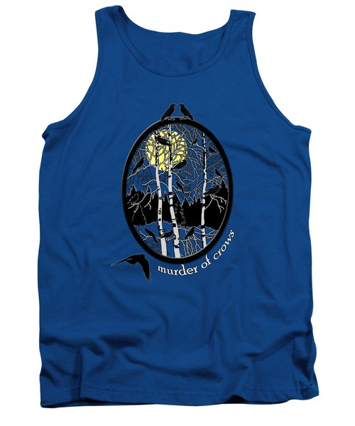 Murder Of Crows Tank Top