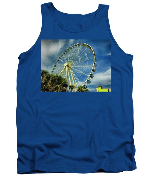 Myrtle Beach Skywheel Tank Top by Bill Barber