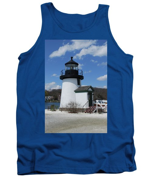 Mystic Lighthouse Tank Top by Gordon Mooneyhan