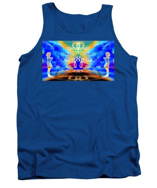 Tank Top featuring the digital art Mystic Universe 13 by Derek Gedney