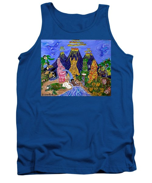 Nativi-tiki Tank Top