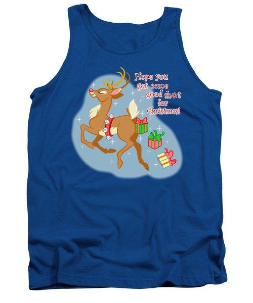 Naughty Reindeer Tank Top