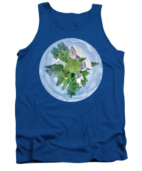 Nebraska Farm - Transparent Tank Top