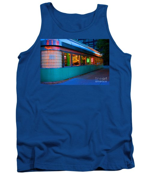 Neon Diner Tank Top