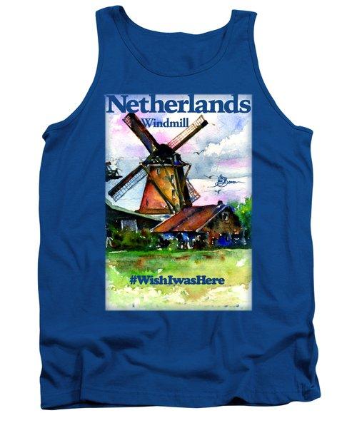 Netherlands Windmill Shirt Tank Top