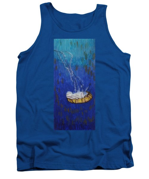Nettle Jellyfish Tank Top by Phil Strang