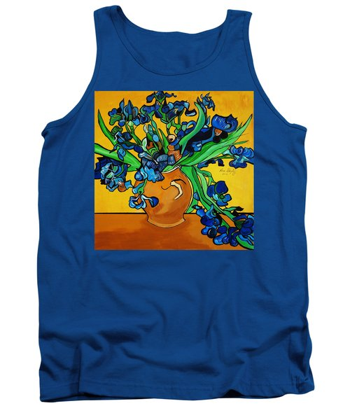 New Blue By You Tank Top by Nora Shepley