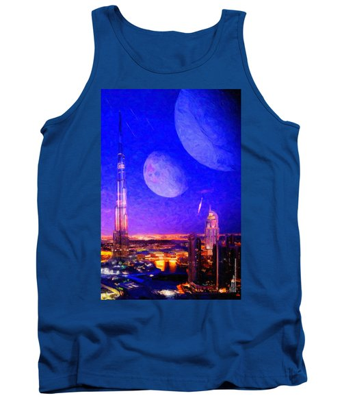 New Dubai On Tau Ceti E Tank Top
