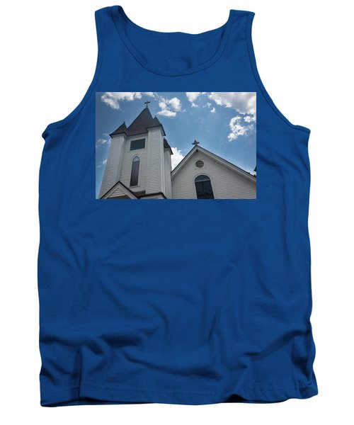 New England Church Tank Top by Suzanne Gaff
