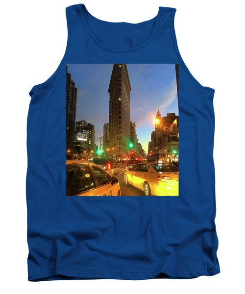 New York City Life Tank Top