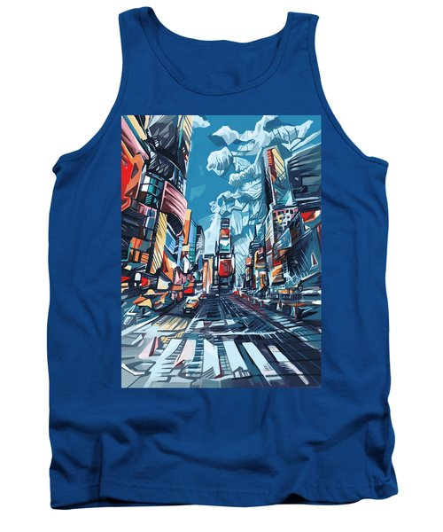 New York City-times Square Tank Top