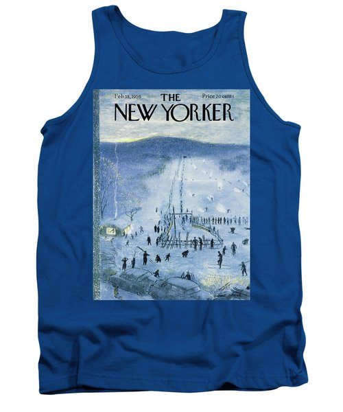 New Yorker February 18 1956 Tank Top