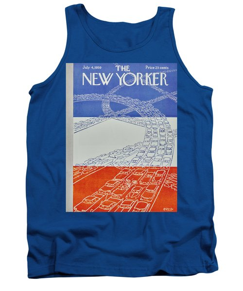 New Yorker July 4 1959 Tank Top