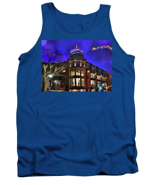 Tank Top featuring the photograph Newbury Street And The Prudential - Back Bay - Boston by Joann Vitali