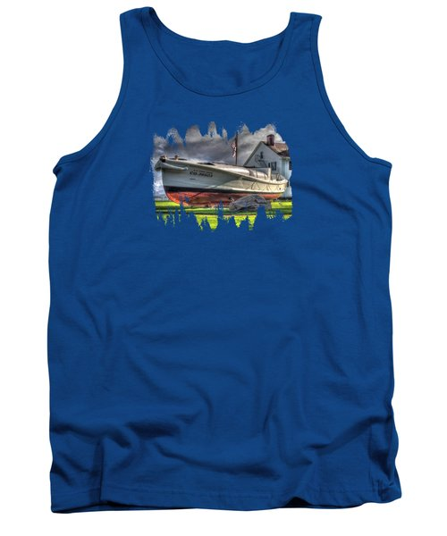 Newport Coast Guard Station Tank Top