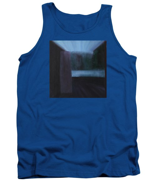 Tank Top featuring the painting Nietzsche by Min Zou
