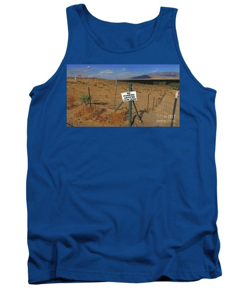 No Parking Anytime Tank Top